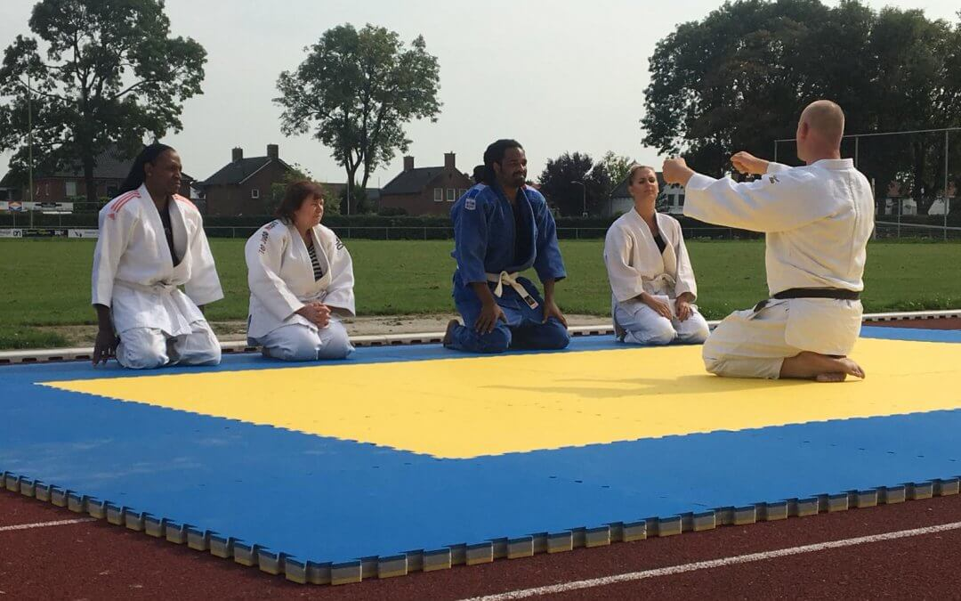 Fit4Work krijgt clinic Judo